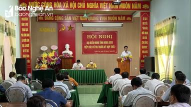 Đại biểu HĐND tỉnh Nghệ An khóa XVIII tiếp xúc cử tri các huyện Nghĩa Đàn, Quỳnh Lưu