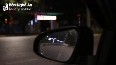 Những bức hình sau ô kính giãn cách: Thành Vinh trước 0 giờ ngày 23/8