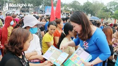Hiệu quả lồng ghép truyền thông dân số ở Nghệ An