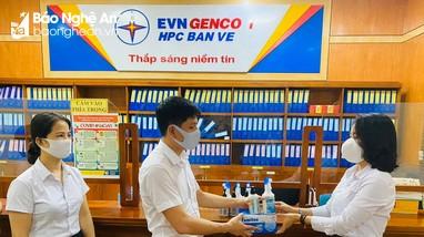 Công ty Thủy điện Bản Vẽ vừa phòng dịch Covid-19, vừa đảm bảo sản xuất kinh doanh