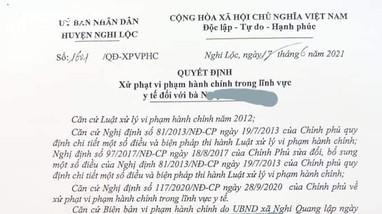 Xử phạt chủ quán ăn vì vi phạm quy định phòng, chống dịch Covid-19