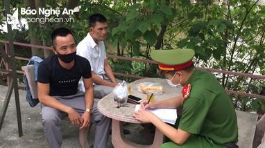 Diễn Châu xử phạt tới 31 trường hợp vi phạm về phòng, chống dịch Covid-19