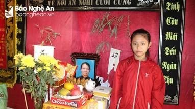 Hoàn cảnh đáng thương của nữ sinh côi cút 'hai lần mất mẹ'