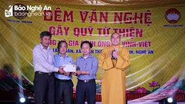 Chùa Chí Linh tổ chức đêm nhạc thiện nguyện giúp đỡ gia đình hoàn cảnh khó khăn