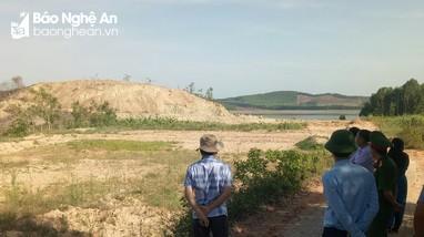 Chi cục Kiểm lâm Nghệ An chỉ đạo kiểm tra sai phạm tại xã Quỳnh Tân