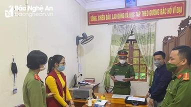 Nghệ An: Khởi tố thêm 1 công chức xã liên quan sai phạm chi trả tiền hỗ trợ cho người dân