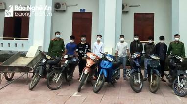 Bắt nhóm tuổi teen chuyên trộm cắp xe máy