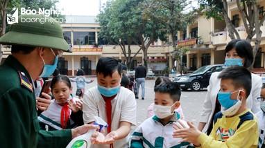 Các trường ở Nghệ An sẵn sàng đón học sinh trở lại trường ngày Mùng 6 Tết