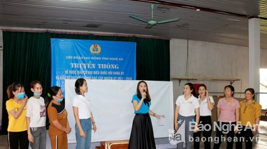 Nghệ An: Công đoàn các cấp hướng đến ngày hội lớn của dân tộc
