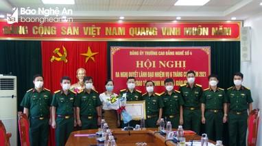 Giảng viên Trường Cao đẳng nghề số 4 - Bộ Quốc phòng được tặng danh hiệu Nhà giáo ưu tú