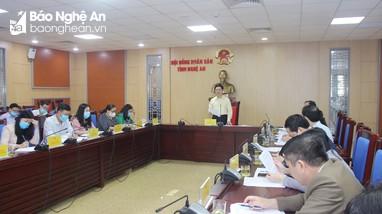 HĐND tỉnh sẽ ban hành nghị quyết hỗ trợ TP. Vinh phát triển giai đoạn 2021-2025