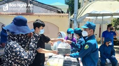 12h tại chốt phòng dịch đường Nguyễn Duy Trinh, TP Vinh