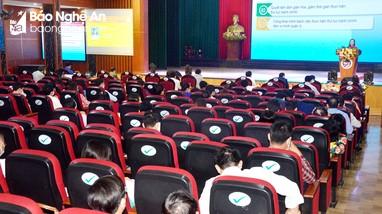Nghệ An khai mạc Hội thi báo cáo viên, tuyên truyền viên giỏi tỉnh năm 2021
