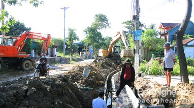 TP. Vinh gấp rút hoàn thành các công trình chống ngập
