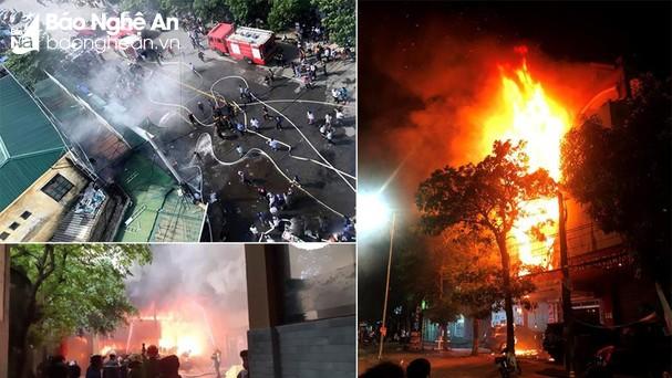 Các vụ cháy, nổ gây ra thiệt hại nghiêm trọng và lâu dài về cả người và của. Ảnh: Tư liệu.