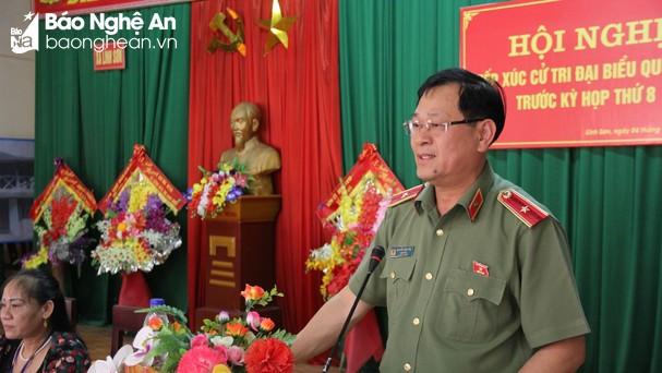 Thiếu tướng Nguyễn Hữu Cầu. Ảnh: Tiến Hùng