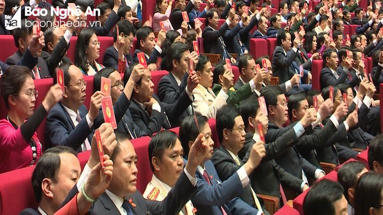 Đại hội XIII họp phiên trù bị, thông qua quy chế, chương trình làm việc