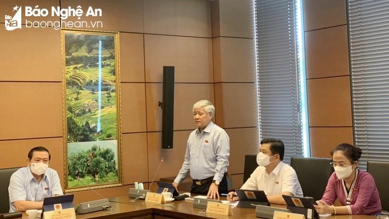 Đoàn ĐBQH tỉnh Nghệ An: Tăng cường kiểm tra, giám sát việc thực hành tiết kiệm, chống lãng phí