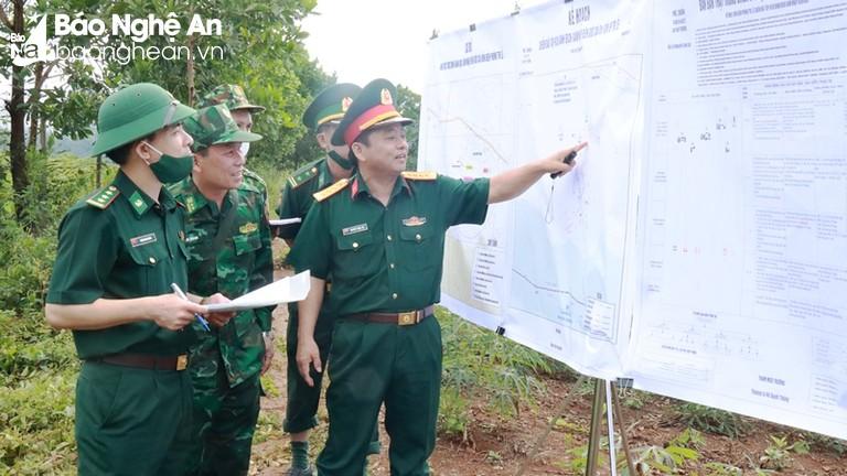 Triển khai ý định diễn tập khu vực phòng thủ huyện Quế Phong và huyện Quỳ Châu