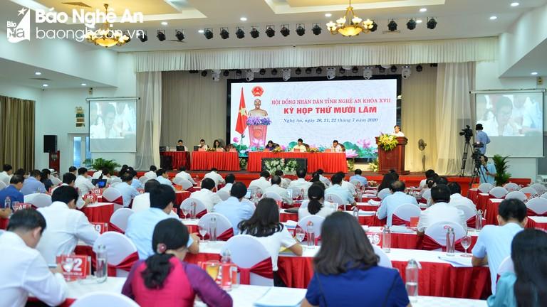 Bế mạc kỳ họp thứ 15, HĐND tỉnh Nghệ An khóa XVII, nhiệm kỳ 2016 - 2021