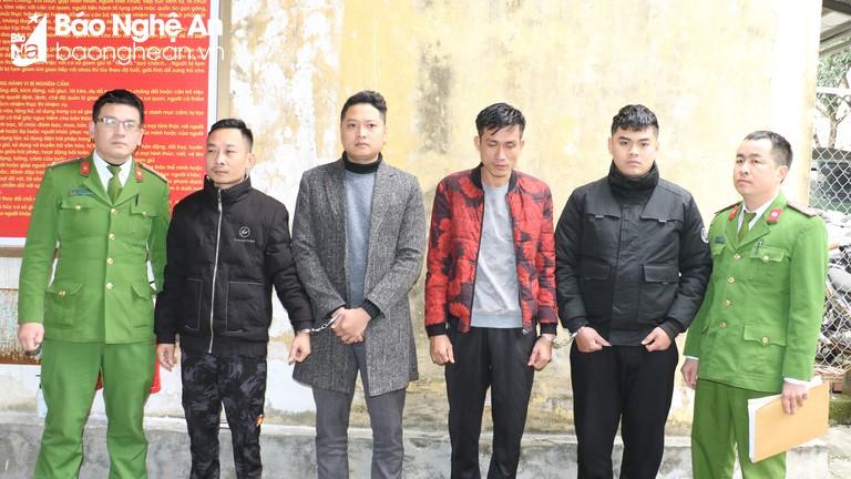 Nhóm trộm ô tô để vỉa hè ở thành phố Vinh sa lưới pháp luật