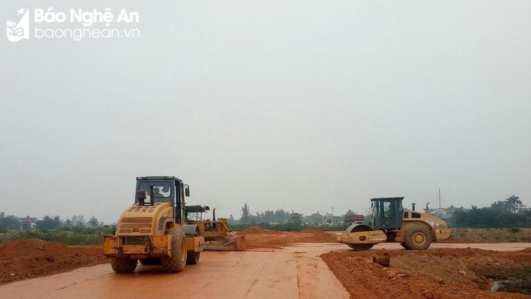 Công ty TNHH Hải Vân nỗ lực hoàn thiện Dự án Khu nhà ở và dịch vụ thương mại Diễn Ngọc