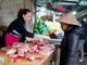 Thị trường Tết: Vì sao hàng thịt lợn vắng khách?