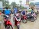 Đoàn thanh niên rửa xe gây quỹ  từ thiện