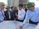 JICA Việt Nam kiểm tra chất lượng công trình cống tiêu Diễn Thành