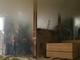 Cháy lớn ở xưởng gỗ ép ở TP Vinh