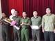 Khen thưởng Ban công an xã Diễn Thành trong phối hợp bắt đối tượng buôn ma túy