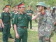 Tư lệnh Quân khu 4 kiểm tra tại Sư đoàn 324