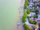 Chiều bình yên ven đê sông Lam