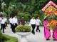 Đồng chí Nguyễn Xuân Thắng dâng hoa, dâng hương tại Khu Di tích Kim Liên