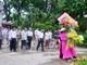 Hội đồng hương Nghệ An ở Hà Nội dâng hoa tại Khu Di tích Kim Liên
