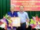 Yên Thành trao Huy hiệu 70 tuổi Đảng