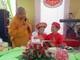 Xúc động lễ cưới tại chùa của cặp đôi khuyết tật ở Nghệ An