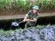 Gần 300 bộ đội Nghệ An giúp dân nạo vét kênh mương