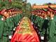 Hàng nghìn người dự lễ an táng 98 liệt sỹ hy sinh tại Lào