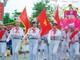 Hàng nghìn học sinh ở Nghệ An thi nghi thức Đội chào mừng Quốc khánh