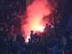 CĐV xứ Nghệ đốt pháo sáng, chết lặng nhìn Quảng Nam nâng cao Siêu Cúp