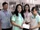 Tặng quà cho công nhân nghèo, có hoàn cảnh khó khăn ở Yên Thành