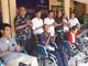 Tặng 25 xe lăn cho người khuyết tật và trẻ mồ côi ở Con Cuông