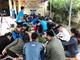 Bí thư Huyện ủy Hưng Nguyên tham gia gói bánh chưng tặng hộ nghèo biên giới Kỳ Sơn