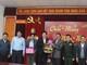 Lãnh đạo huyện Xay Chăm Phon, tỉnh Bôlykhămxay chúc Tết huyện Con Cuông, Anh Sơn