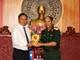 Xây dựng mối đoàn kết, hữu nghị, hợp tác giữa tỉnh Savannakhet và Quân khu 4