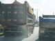 Xe tải cơi nới lộng hành trên Quốc lộ trong tháng ATGT