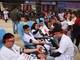 """Hơn 1.000 cán bộ y tế Nghệ An hiến máu tình nguyện tại ngày hội """"Giọt hồng Blouse trắng"""""""