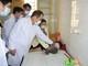 Nghệ An cần tiếp tục rà soát trẻ trong độ tuổi từ 9-12 tháng chưa được tiêm vắc xin sởi
