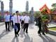 Đoàn đại biểu tỉnh Nghệ An dâng hương tưởng niệm anh hùng liệt sĩ, thăm hỏi gia đình chính sách